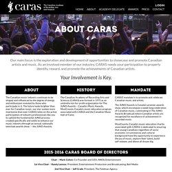 CARAS » About CARAS