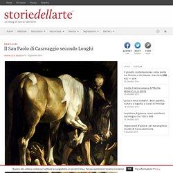 Il San Paolo di Caravaggio secondo Longhi