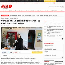 Caravanim': un collectif de techniciens du cinéma d'animation , Bruz 15/12/2012