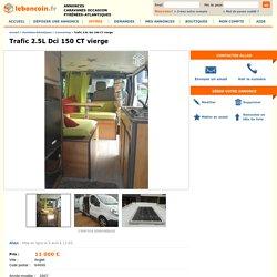 Trafic 2.5L Dci 150 CT vierge Caravaning Pyrénées-Atlantiques