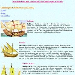 Caravelles de Christophe Colomb