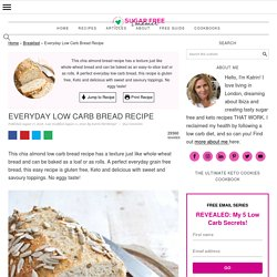 Low Carb Bread Recipe (Chia & Almond Flour)