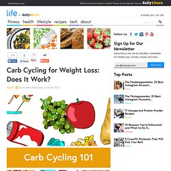 Carb Cycling for Weight Loss: Does It Work?