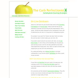 Carb Factor Resources