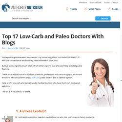 Top 17 Low-Carb & Paleo Doctors With Blogs