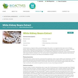 White Kidney Beans Carbohydrate Content