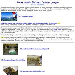 Steve Arndt's Carbon Dragon at Harris Hill, Elmira, New York, USA