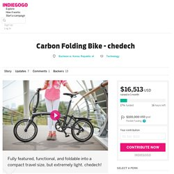 Carbon Folding Bike - chedech
