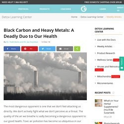 Black Carbon and Heavy Metals: A Deadly Duo to Our Health - Microbe Formulas™