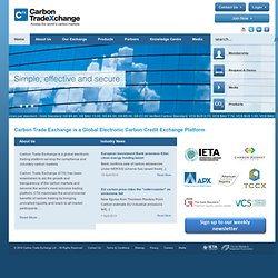 Carbon Trade Exchange (CTX)