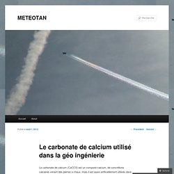 Le carbonate de calcium utilisé dans la géo ingénierie