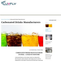 Best Carbonated Drinks Manufacturers - AIMS Beverages