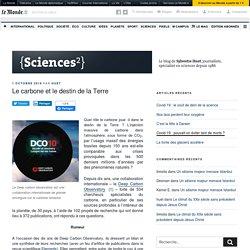 Le carbone et le destin de la Terre – {Sciences²}