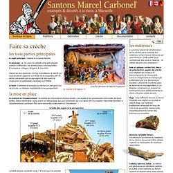 Marcel Carbonel : SANTONS et CRECHES