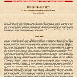 Carboneria - Le società segrete