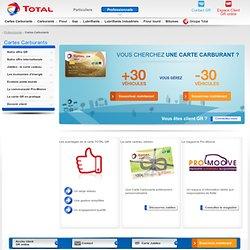Carte essence et cartes carburants Total : informations, offres et avantages