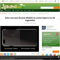 Xataka Móvil - Esta carcasa de Just Mobile se autorrepara en 20 segundos