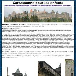Carcassonne pour les enfants