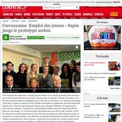 Carcassonne. Emploi des jeunes : Sapin jauge le prototype audois - 14/02/2014 - ladepeche.fr