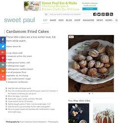 Cardamom Fried Cakes