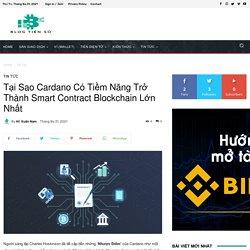 Tại Sao Cardano Có Tiềm Năng Trở Thành Smart Contract Blockchain Lớn Nhất