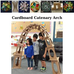 Cardboard Catenary