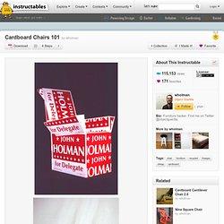 Cardboard Chairs 101