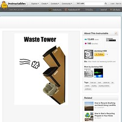 Cardboard Waste Tower - Viewing All Comments