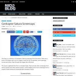Cardcaptor Sakura Screencaps - NicoBlog.org