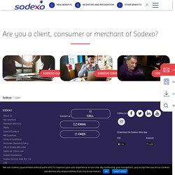 Cardholder Login - Sodexo Benefits & Rewards Services India