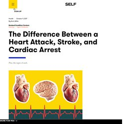 Cardiac Arrest vs. Heart Attack vs. Stroke: Signs, Symptoms, and Causes of Each