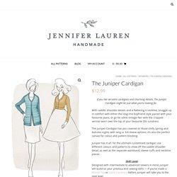 The Juniper Cardigan – Jennifer Lauren Handmade