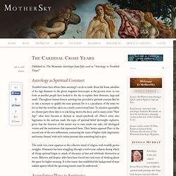 The Cardinal Cross Years