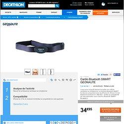 Cardio Bluetooth SMART GEONAUTE - Cardiofréquencemètres Montre, GPS, caméra...