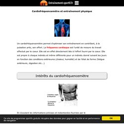 Le cardiofréquencemètre pour un entraînement optimal