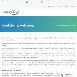 Cardiologist in Melbourne - SCCVS