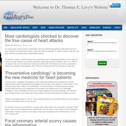 Most cardiologists shocked to discover the true cause of heart attacks