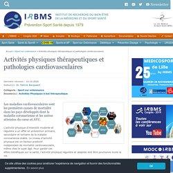 AP thérapeutiques et pathologies cardiovasculaires