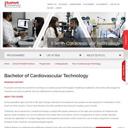 B.Sc in Cardiovascular Technology, Gurgaon
