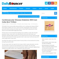 Cardiovascular Disease Diabetes Will Cost India $6.2 Trillion