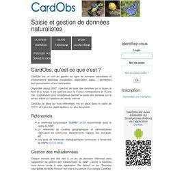 CardObs - Login