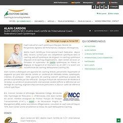 ALAIN CARDON MCC, Coach systémique exécutif, coach d'équipe