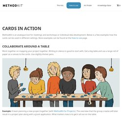 Cards in action - MethodKit Cards