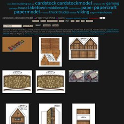 s most recently posted photos of cardstock and cardstockmodel