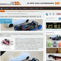 Carduino, la voiture radiocommandée imprimée en 3D