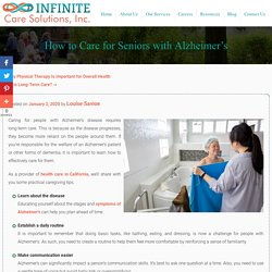 How to Care for Seniors with Alzheimer's