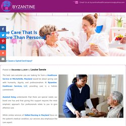 The Care That Is More Than Personal