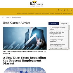 Best Career Advice - The Daily Campus