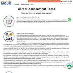online career assessment