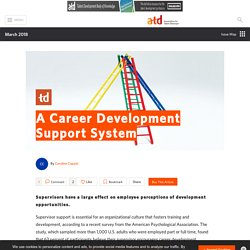 A Career Development Support System